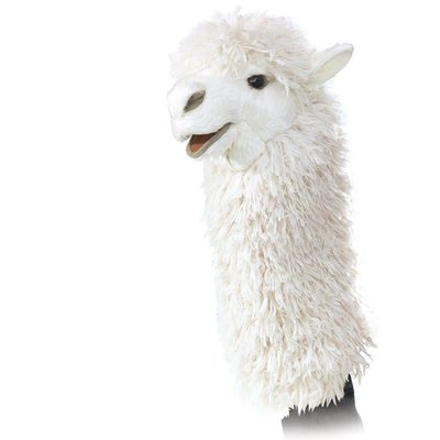 Folkmanis Folkmanis Stage Puppet Alpaca