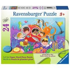 Ravensburger Floor Puzzle 24pc Deep Diving Friends