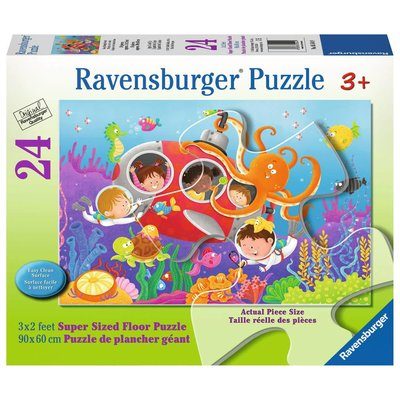 Ravensburger Ravensburger Floor Puzzle 24pc Deep Diving Friends