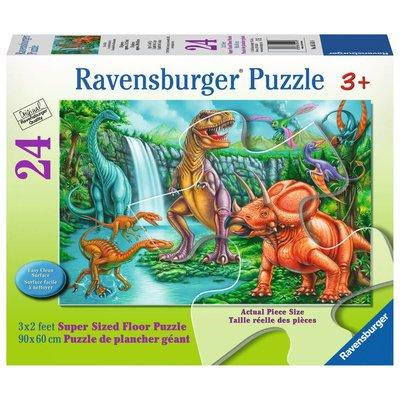 Ravensburger Ravensburger Floor Puzzle 24pc Dino Falls