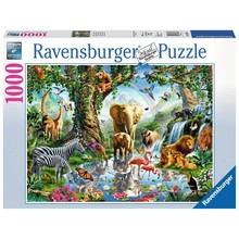 Ravensburger Ravensburger Puzzle 1000pc Adventures in the Jungle