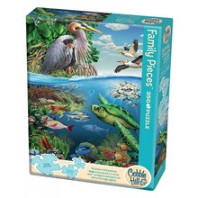 Cobble Hill Puzzles Cobble Hill Family Puzzle 350pc Earth Day