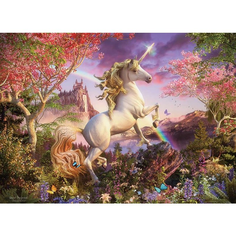 Cobble Hill Puzzles Cobble Hill Family Puzzle 350pc Realm of the Unicorn