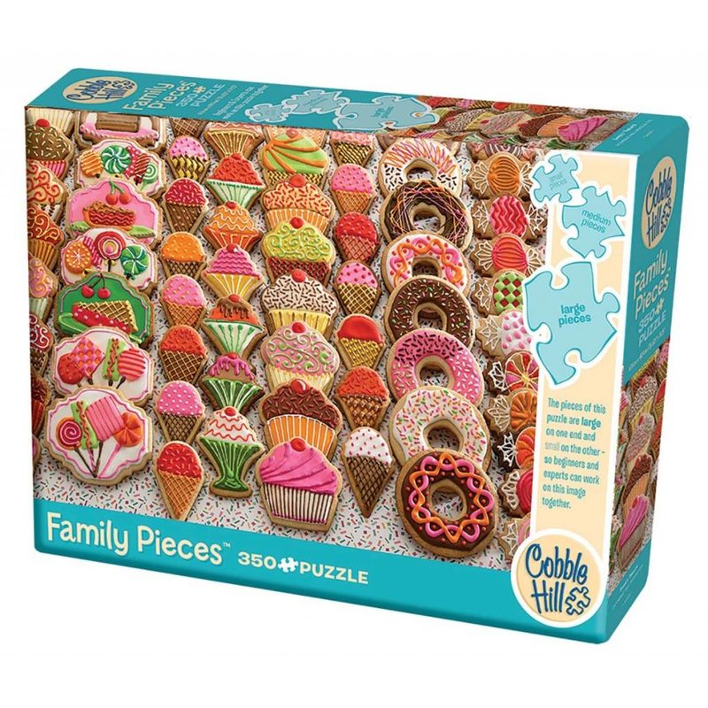 Cobble Hill Puzzles Cobble Hill Family Puzzle 350pc Sweet Treats