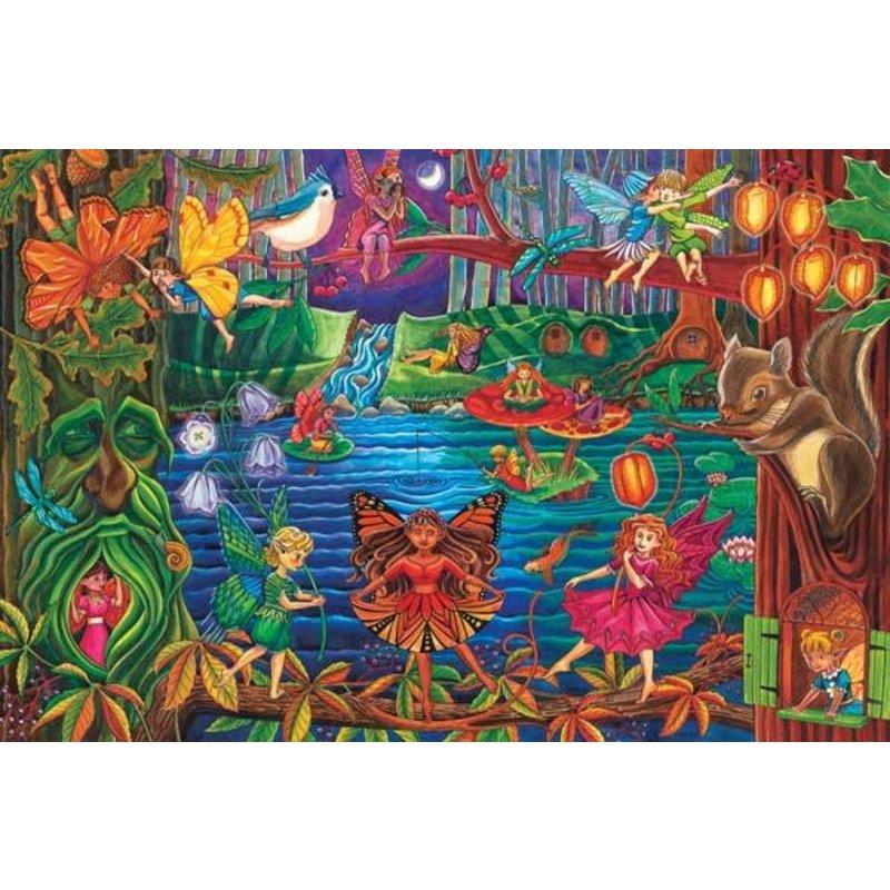 Cobble Hill Puzzles Cobble Hill Floor Puzzle 36pc Fairy Forest