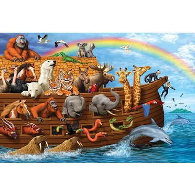 Cobble Hill Puzzles Cobble Hill Floor Puzzle 36pc Noah's Ark