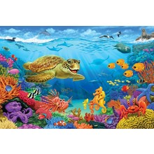 Cobble Hill Puzzles Cobble Hill Floor Puzzle 36pc Ocean Reef