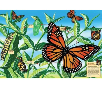 Cobble Hill Floor Puzzle 48pc Butterfly
