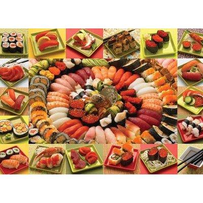 Cobble Hill Puzzles Cobble Hill Puzzle  2000pc Plenty of Sushi