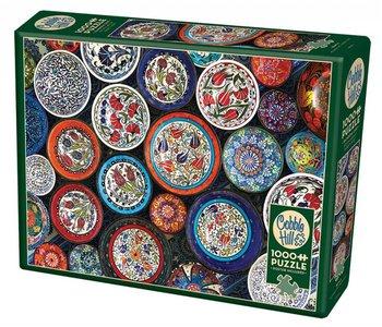 Cobble Hill Puzzle 1000pc Bowls