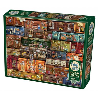 Cobble Hill Puzzles Cobble Hill Puzzle 1000pc Luggage