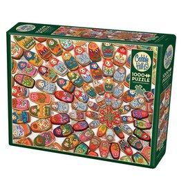 Cobble Hill Puzzles Cobble Hill Puzzle 1000pc Matryoshka Cookies