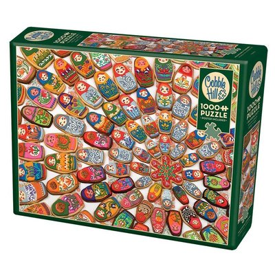 Cobble Hill Puzzles Cobble Hill Puzzle 1000pc Matryoshka Cookies