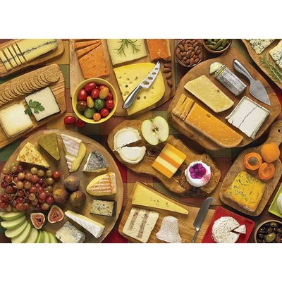 Cobble Hill Puzzles Cobble Hill Puzzle 1000pc More Cheese Please