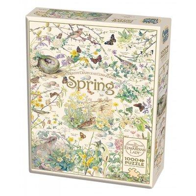 Cobble Hill Puzzles Cobble Hill Puzzle 1000pc Spring
