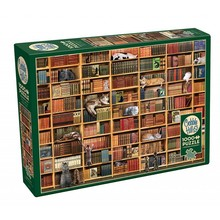 Cobble Hill Puzzles Cobble Hill Puzzle 1000pc The Cat Library