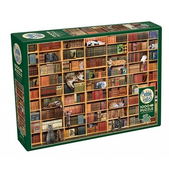 Cobble Hill Puzzles 1000pc The Cat Library