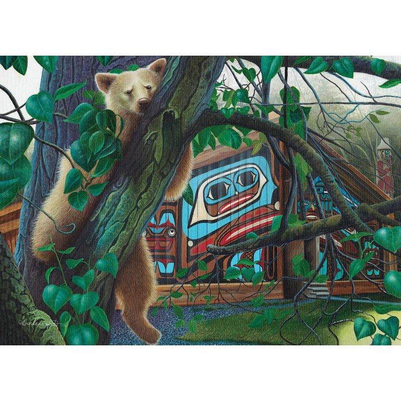 Cobble Hill Puzzles Cobble Hill Puzzle 1000pc Canadian Artist The Watcher