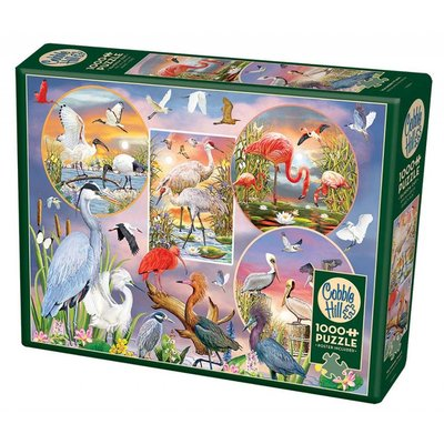 Cobble Hill Puzzles Cobble Hill Puzzle 1000pc Waterbird Magic