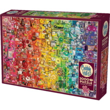 Cobble Hill Puzzles Cobble Hill Puzzle 2000pc Rainbow