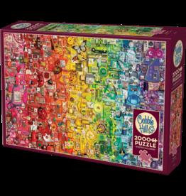 Cobble Hill Puzzles Cobble Hill Puzzle 2000pc Rainbow
