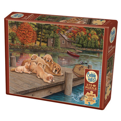 Cobble Hill Puzzles Cobble Hill Puzzle 275pc Lazy Day on the Dock