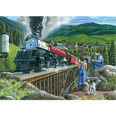 Cobble Hill Puzzles Cobble Hill Puzzle 275pc Steaming Out of Town