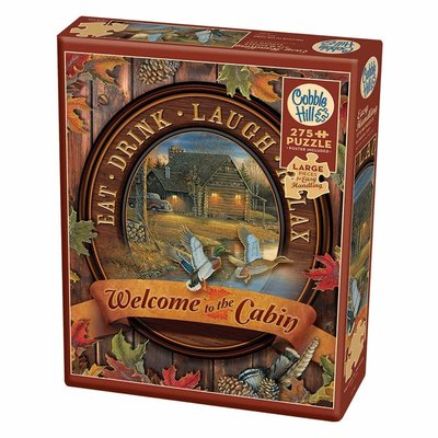Cobble Hill Puzzles Cobble Hill Puzzle 275pc Welcome to the Cabin