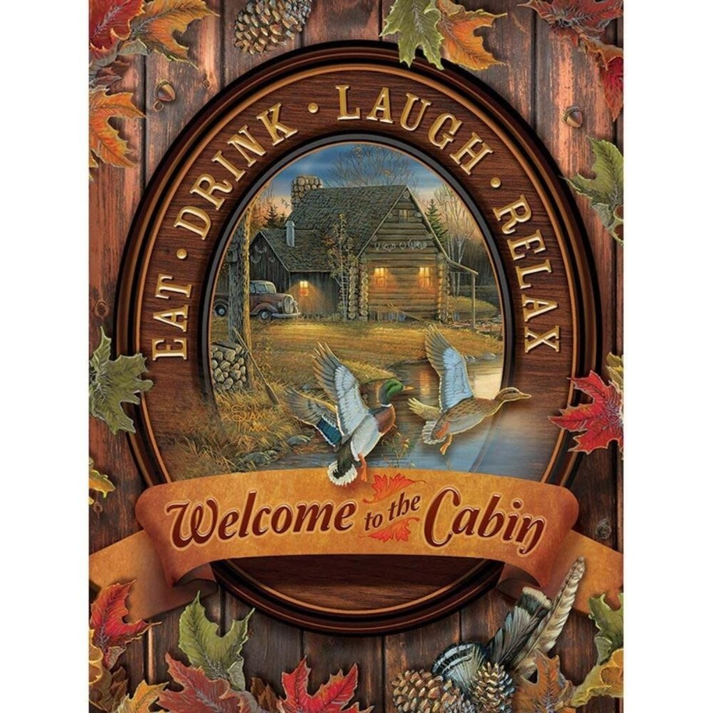 Cobble Hill Puzzles 275pc Welcome to the Cabin