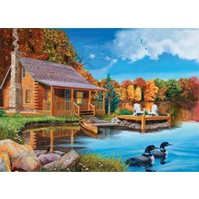 Cobble Hill Puzzles Cobble Hill Puzzle 500pc Loon Lake