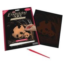 Royal & Langnickel Engraving Art Copper Panda & Baby