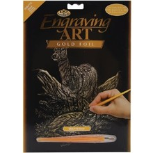 Royal & Langnickel Engraving Art Gold Foil Deers