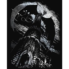 Royal & Langnickel Engraving Art Silver Dragon Tower