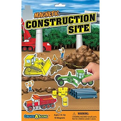 Magnetic Playset Construction
