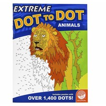 Mindware Mindsware Book Extreme Dot to Dot Animals