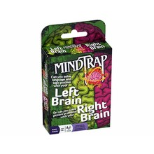 Outset Media Mindtrap Card Game Left Brain Right Brain