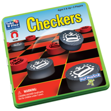 Playmonster Patch Game Magnetic Checkers