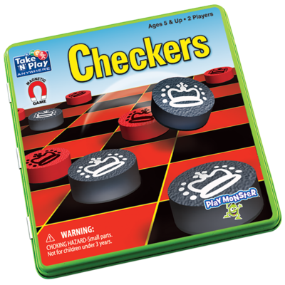 Patch Game Magnetic Checkers