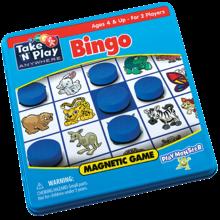 Playmonster Patch Magnetic Tin Game: Bingo
