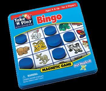 Patch Magnetic Tin Game: Bingo