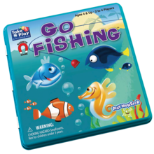Playmonster Patch Magnetic Tin Game: Go Fishing