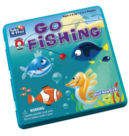 Patch Magnetic Tin Game: Go Fishing