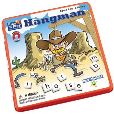 Patch Magnetic Tin Game: Hangman