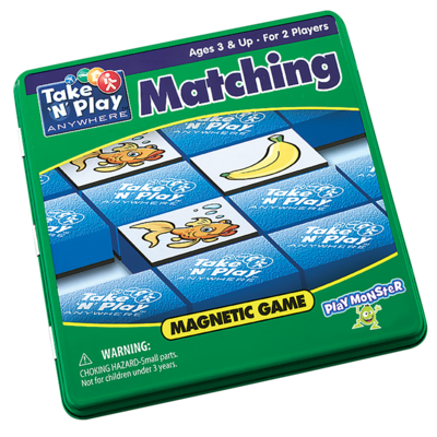 Patch Magnetic Tin Game: Matching