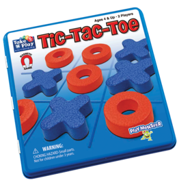 Patch Magnetic Tin Game: Tic Tac Toe