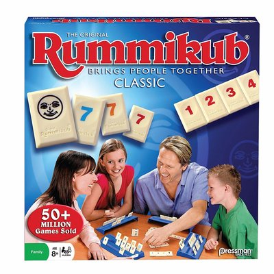 Outset Media Pressman Game Rummikub