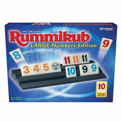Outset Media Pressman Game Rummikub Large Numbers