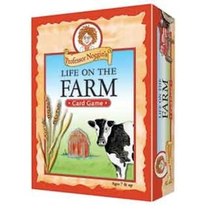 Outset Media Professor Noggin's Trivia Game: Life on the Farm