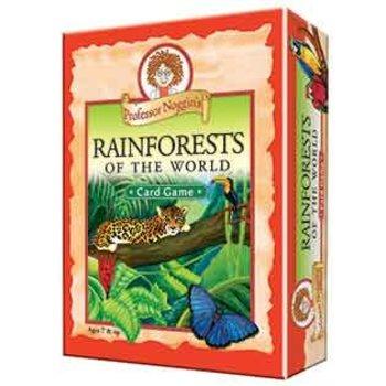 Outset Media Professor Noggin's Trivia Game: Rainforests of the World