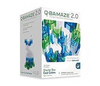 Q-Ba-Maze 2.0 Marble Run Cool Colours